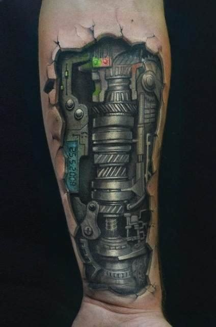 mechanical tattoo designs for men 1000 images about leg on biomechanical