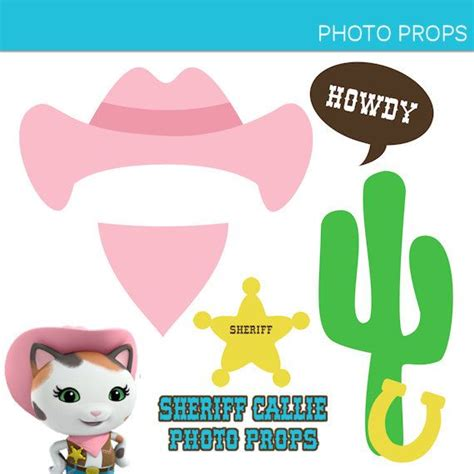 wild west printable photo booth props sheriff callie s wild west photo booth props printable
