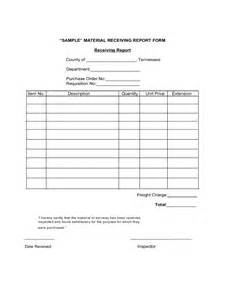 receiving report form 2 free templates in pdf word