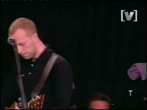 coldplay sparks coldplay performing sparks live at the big day out 2001