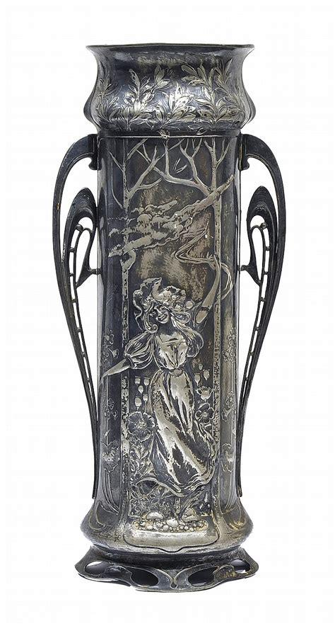 Nouveau Vase by Vase Nouveau Ca 1890
