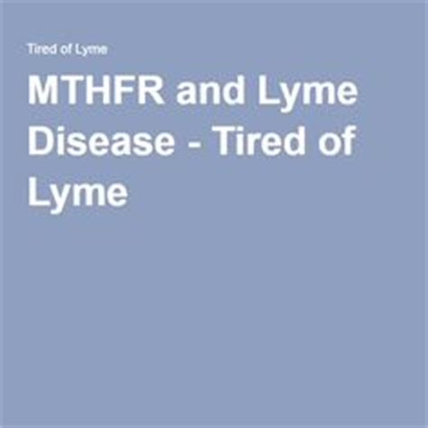 Mthfr And Detox Lyme Bite by Debbie Gibson Is Battling Lyme Disease Yellow Articles