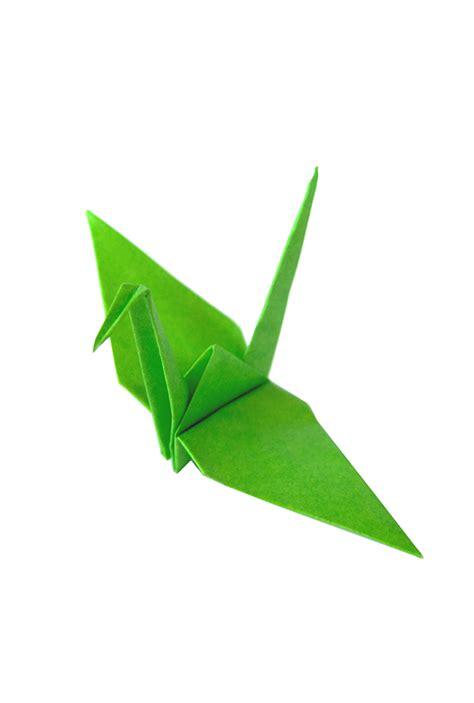The Origami Paper Shop - green origami paper cranes graceincrease custom