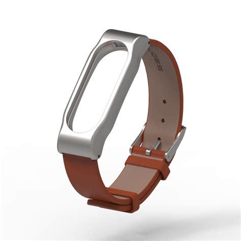 Mijobs Leather For Mi Band 2 Oled Original original mijobs xiaomi mi band 2 metal leather belt wristband for mi band 2 smart miband