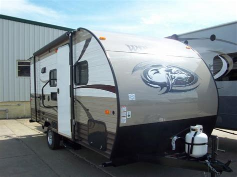 travel trailer with bunk beds wolf pup 16bhs double bunk with queen bed travel trailer