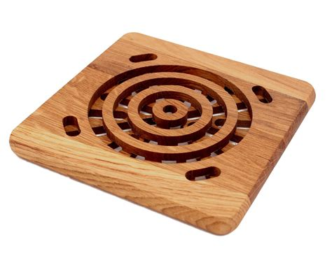 wood trivet   wood woodworking projects woodworking