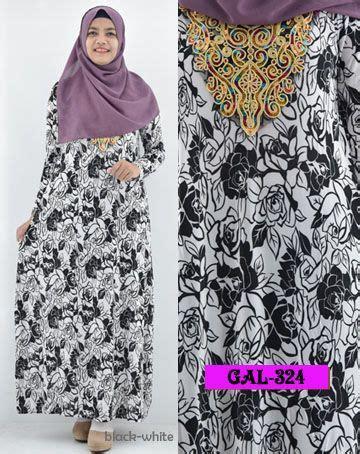 Maxi Maxmara Batik Bunga 5 Warna koleksi gamis cantik kode gal 324 nama maxi batik