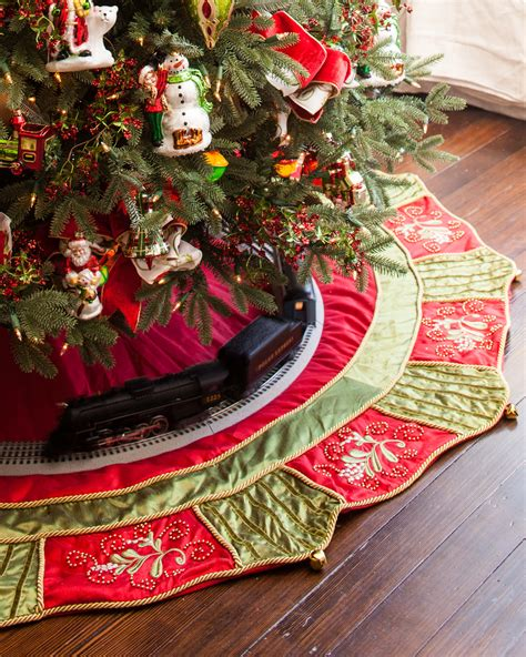 best christmas tree skirt photos 2017 blue maize