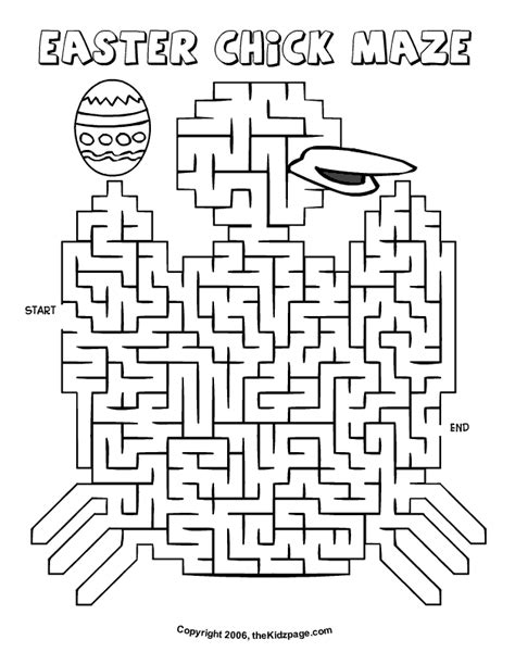printable maze sheets free math worksheets printable easter mazes free best