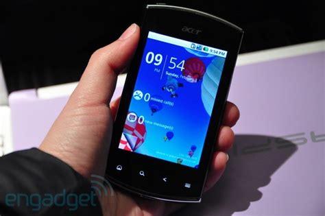 Handphone Acer Liquid Mini E310 acer liquid mini e310 android froyo terjangkau dengan gpu hebat review hp terbaru
