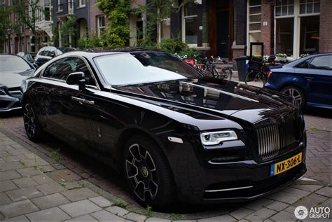 roll royce wraith black rolls royce wraith black badge 30 june 2017 autogespot