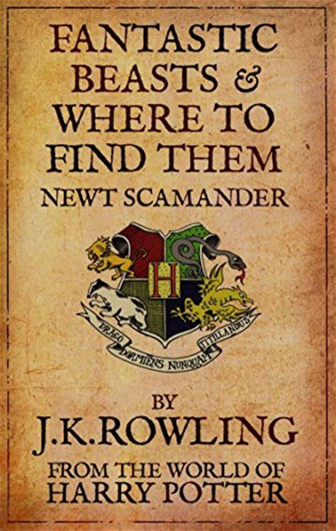 summary of fantastic beasts and where to find them by j k rowling books review fantastic beasts and where to find them