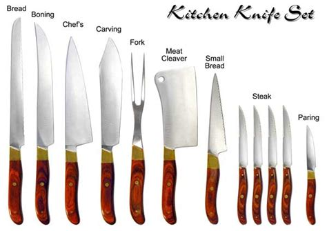 different types of kitchen knives and their uses great eat spectations may 2011