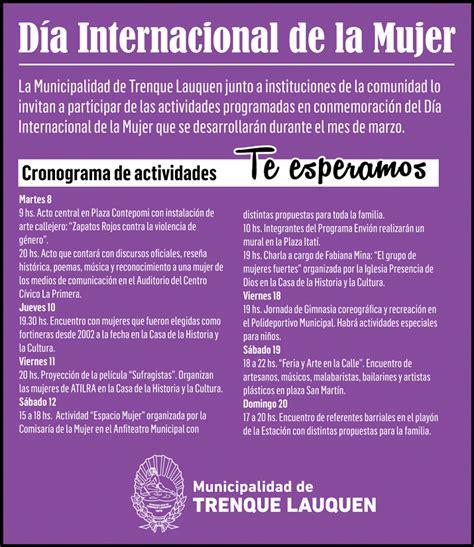 discurso por el da internacional de la mujer el acto central por el d 237 a internacional de la mujer en