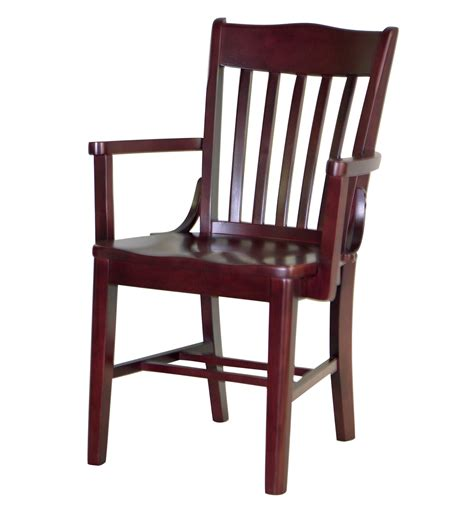7035 1 wood arm chair