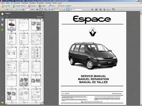 Renault Espace Iii Manual De Taller Service Manual