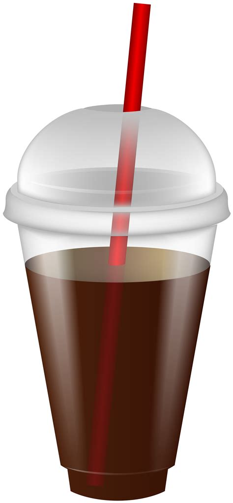 drink  plastic cup  straw png clip art image