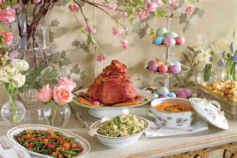 easy elegant dinner menus easy elegant easter menu 13 easter sunday lunch menus southern living