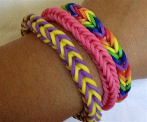 How to Make a Rainbow Loom Fishtail Bracelet   Snapguide
