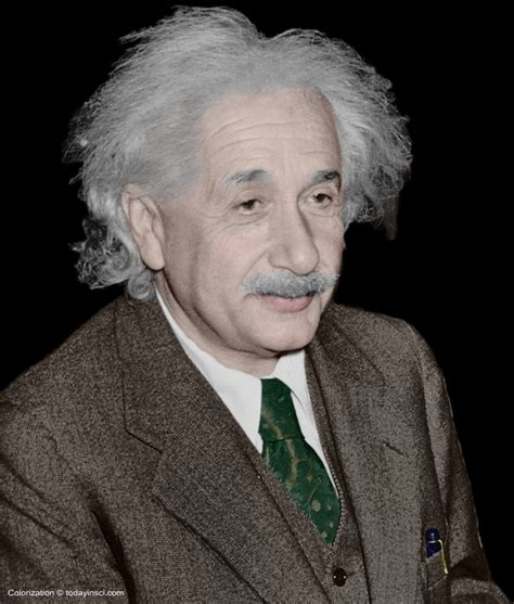 albert einstein in color albert einstein large picture color and