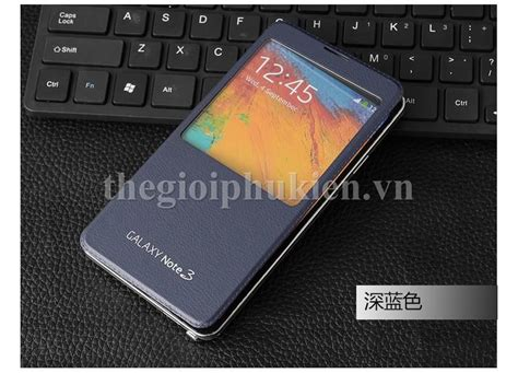 Note 3 N9000 Flip Cover S View flip cover s view galaxy note 3 n9000 thegioiphukien vn