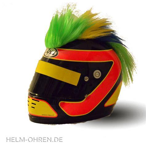 Motorrad Helm Winter by Motorradhelme Irokese Gr 252 N Gelb Blau Helm Ohren De