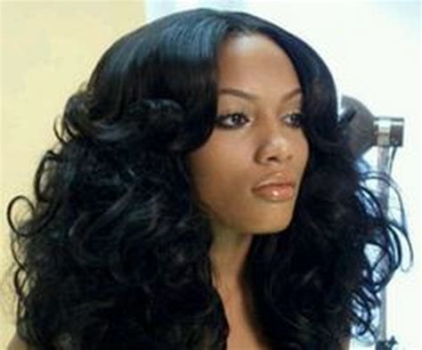 Curly Tracks Hairstyles by Best Salon American And Weaves Hairstyle 2013