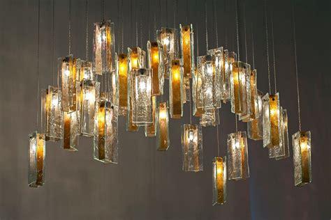 artistic lighting art glass lighting gold drops lighting chandelier using 46
