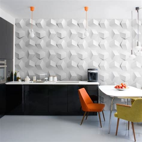 Decorative For Walls by Creative Hexagonal Wall Feature Feature Wall Mounted