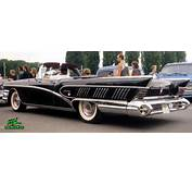 1958 Buick Limited Convertible Back