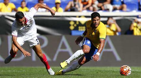 Brazilia Vs Costa Rica Leads Brazil To 1 0 Win Against Costa Rica The