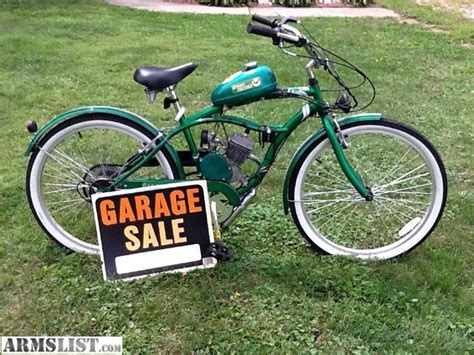bicycles with motors for sale armslist for sale trade green hornet motorized bike