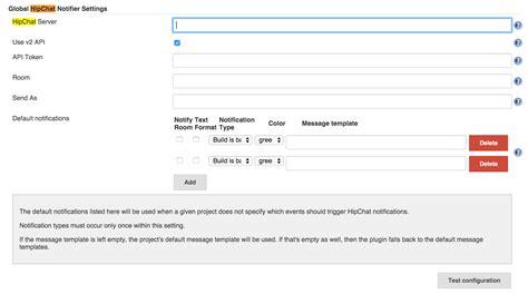 format jenkins email hipchat plugin jenkins jenkins wiki