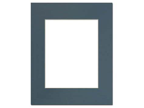 Pre Cut Mat Board pre cut photo mat board 16 x 20 in antique blue