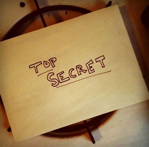 secret notes moving out a top secret note for the new tenants
