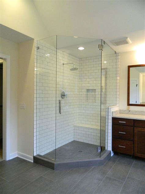 walk in walk in shower with seat home depot walk in tiled shower