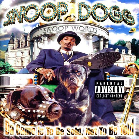 best snoop dogg album snoop dogg da is to be sold not to be told