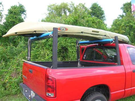 Diy Truck Canoe Rack by Kayak Racks For Trucks Breeds Picture