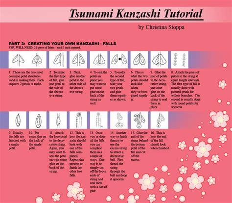 kanzashi templates kanzashi tutorial part 6 by kurokami kanzashi on deviantart