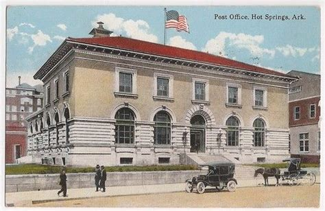 ssi office hot springs ar post office hot springs ar postmarked 1924 antique and