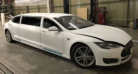 Sell Tesla World S Tesla Model S Limo Selling For 67k On Ebay