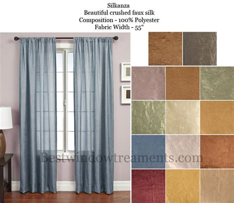 silk drapes with blackout liner silkanza curtain drapery panels