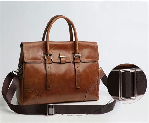 mens leather business bags mens business casual leather brown shoulder bag zb14m4c8pi of high quality and s