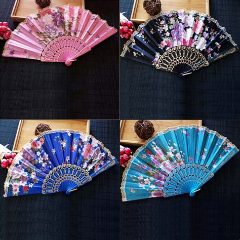 fancy hand fans wholesale online buy wholesale japanese silk flowers from china