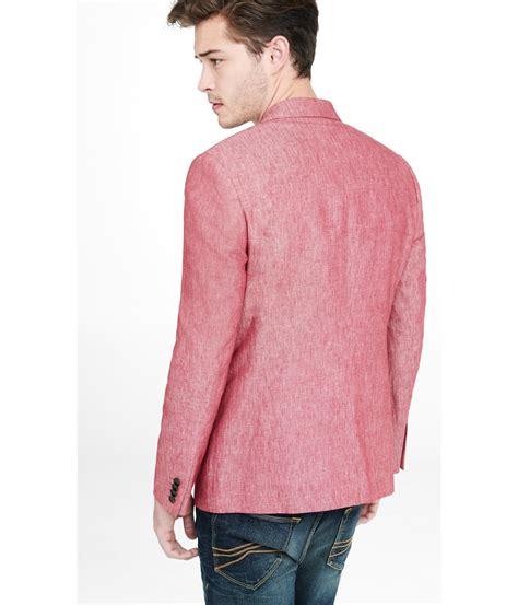 Linen Cotton Jacket lyst express linen cotton photographer jacket in