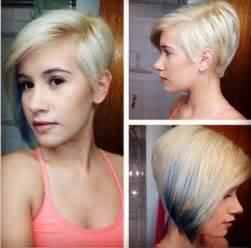 asymmetric hair bob hairstyle 40 for for 2015 40 pretty short haircuts for women short hair styles