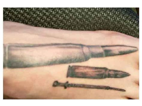 bullet tattoo on finger 25 latest bullet tattoo images pictures and ideas