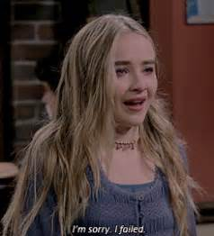 Crty Sabrina my box of gifs gif hunt sabrina carpenter quot sad upset quot