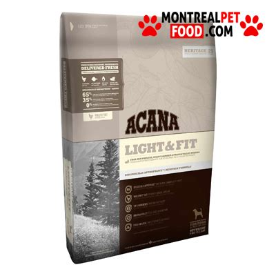 acana light fit dry dog acana light fit pour chien montreal pet food