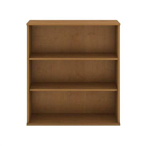 bush business furniture 48h 3 shelf bookcase in